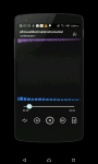 MP3 Music player Android screenshot 3/5