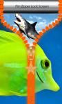 Fish Zipper Lock Screen screenshot 1/6