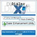 Dialer-X Calling Card Manager screenshot 1/1