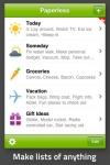 Paperless: Lists + Checklists screenshot 1/1