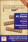 Hangman RSS (for the brave only ~ play with real-time news ;) Free screenshot 1/1