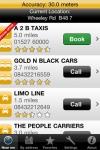 One Click Cab Taxi Finder screenshot 1/1