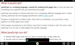 JavaScript Tutorial screenshot 2/3
