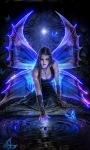 Blue Night Fairy LWP screenshot 1/3