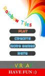 Rainbow Tiles - Dont step on the white tile screenshot 1/6