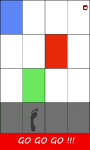 Rainbow Tiles - Dont step on the white tile screenshot 3/6