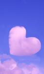 Pink Heart Cloud Live Wallpaper screenshot 1/3