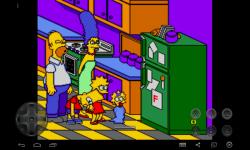 The Adventure Bart Simpson  nightmare screenshot 1/3