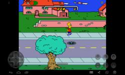 The Adventure Bart Simpson  nightmare screenshot 3/3