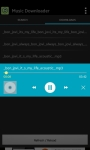 hd mp3 music downloader and player screenshot 2/6