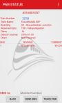 Track my PNR by SMS screenshot 2/6