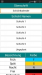 Schichtkalender complete set screenshot 5/6