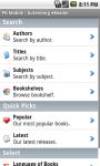 Gutenberg eReader screenshot 1/3