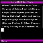 Birthday Text screenshot 2/4
