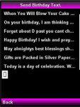 Birthday Text screenshot 3/4