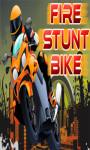 Fire Stunt Bike - Free screenshot 1/5