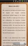Unofficial NCAA Football News - Standing Schedule screenshot 1/2