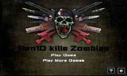 Ben 10 Kills Zombies screenshot 1/5