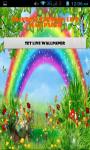 Cartoon Rainbow Live Wallpaper Best screenshot 1/4