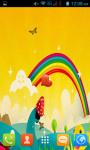 Cartoon Rainbow Live Wallpaper Best screenshot 2/4