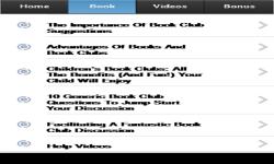 Book Clubs screenshot 2/3