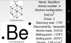 Periodic Table Full screenshot 3/5