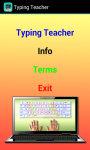 Typing Teacher screenshot 2/3