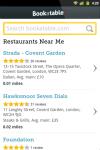 Bookatable Mobile screenshot 1/6
