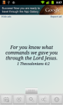 Bible Verse of the Day with Widget screenshot 1/3