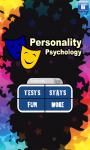 Personality Psychology App screenshot 1/5
