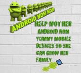 Android Nom Nom  screenshot 1/5