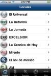 Periodicos de Mexico  Prensa Mexico: El Universal, La Jornada, El Debate, La Reforma, Excelsior screenshot 1/1