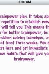 Brain Power 70 Tips screenshot 1/1