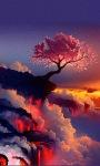 Fantasy Lava Tree Live Wallpaper screenshot 3/3