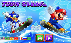 Toon Skiing screenshot 1/6