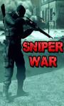 Sniper War - Free screenshot 1/4