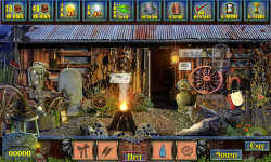 Free Hidden Object Games - Haunted Town screenshot 3/4
