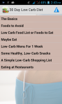 30 Day Low Carb Diet screenshot 1/6