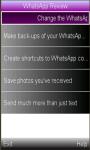 WhatsApp Update/ Review screenshot 1/1