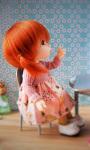 Cute Doll Live Wallpaper 2 screenshot 1/4