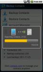 Contacts Transfer Utility screenshot 3/6