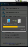 Contacts Transfer Utility screenshot 4/6