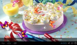 3D Happy Birthday Live Wallpaper screenshot 1/5