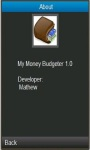 My monney Budgeter screenshot 4/6