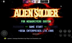 Alien Soldier SEGA screenshot 1/5