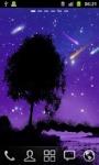 Shining Stars in Moonlight HD LWP screenshot 1/3