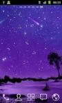 Shining Stars in Moonlight HD LWP screenshot 2/3