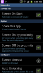 Screen On Off screenshot 1/3
