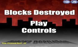 Blocks Destroyed FREE screenshot 1/4