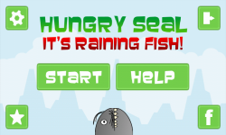 Hungry Seal- Its Raining Fish screenshot 1/4